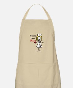 Nurses Have Heart Apron