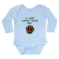 A Cane Corso Loves Me Body Suit