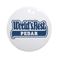 WB Dad [Persian] Ornament (Round)