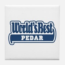 WB Dad [Persian] Tile Coaster