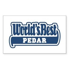 WB Dad [Persian] Rectangle Decal
