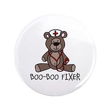 "Boo Boo Fixer 3.5"" Button (100 pack)"