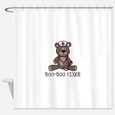 Boo Boo Fixer Shower Curtain