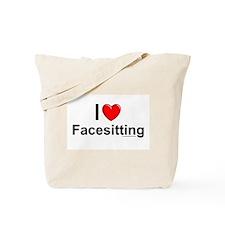 Facesitting Tote Bag