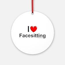 Facesitting Ornament (Round)