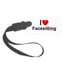 Facesitting Luggage Tag