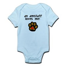 An AmStaff Loves Me Body Suit