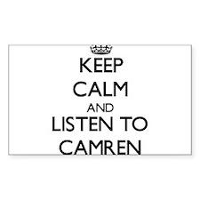 Keep Calm and Listen to Camren Decal