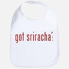 got sriracha? Bib