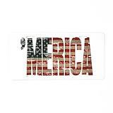 'merica vintage License Plates