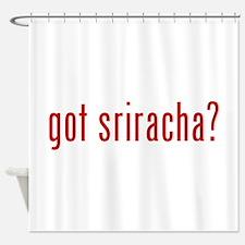 got sriracha? Shower Curtain