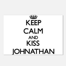 Keep Calm and Kiss Johnathan Postcards (Package of