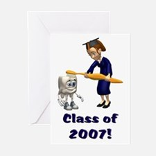 Dental hygiene graduation Greeting Cards (Package