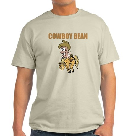 Cowboy Bean Ash Grey T-Shirt