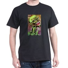 Green Zombie by Moonlight T-Shirt