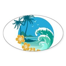 Cute Surfing Decal
