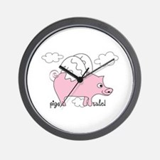 Pigs Rule! Wall Clock