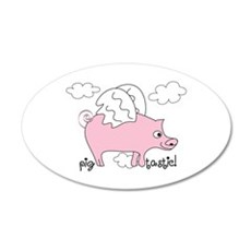 Pig Tastic! Wall Decal