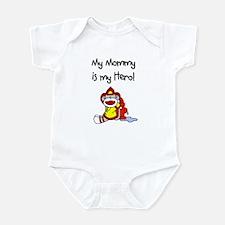 Mommy Firefighter Hero Infant Bodysuit
