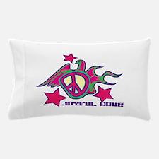 Joyful,Dove Pillow Case