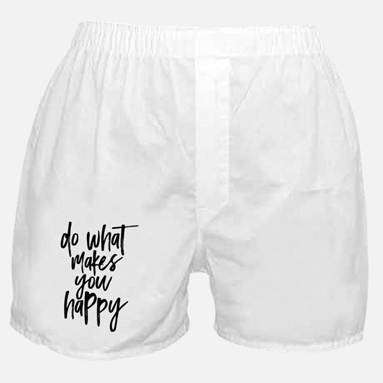 Cute Calligraphy Boxer Shorts