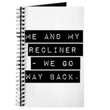 Me And My Recliner Journal