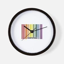 Certified Pride Wall Clock