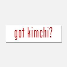 got kimchi? Car Magnet 10 x 3