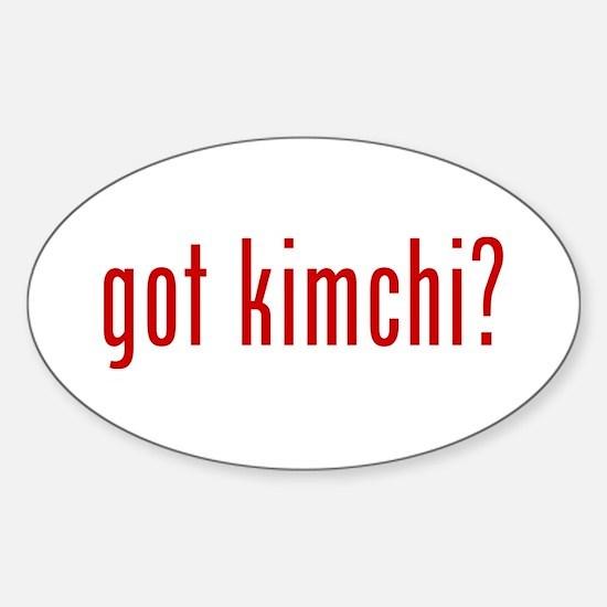 got kimchi? Decal