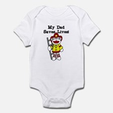 My Dad Saves Lives Infant Bodysuit