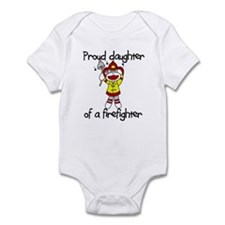 Firefighter's Daughter Infant Bodysuit