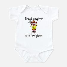Firefighter's Daughter Infant Bodysuit