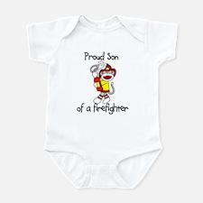 Firefighter's Son Infant Bodysuit