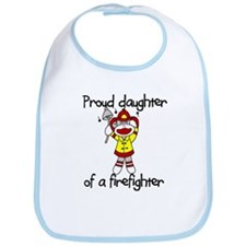 Firefighter's Daughter Bib