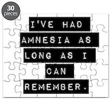 Ive Had Amnesia Puzzle