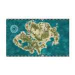 Pirate Adventure Map Wall Decal