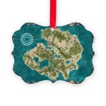 Pirate Adventure Map Ornament