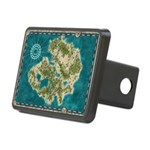 Pirate Adventure Map Hitch Cover