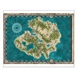 Pirate Adventure Map Posters