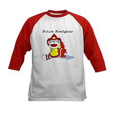 Sock Monkey Future Firefighter Tee