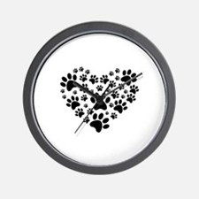 I love animals Wall Clock