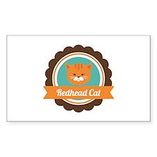Redhead cat Decal
