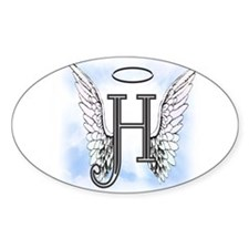 Letter H Monogram Decal
