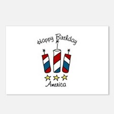 Happy Birthday America Postcards (Package of 8)