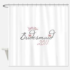 Junior Bridesmaid 2011 Shower Curtain