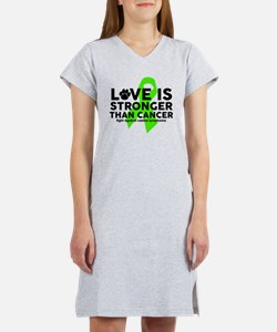 Love is Stronger - Canine Lymph Women's Nightshirt