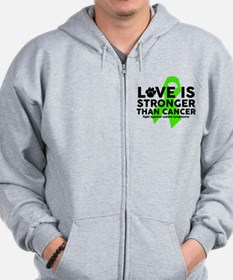 Love is Stronger - Canine Lymphoma Zip Hoodie