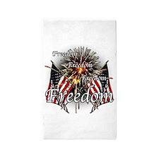 Freedom fireworks 3'x5' Area Rug