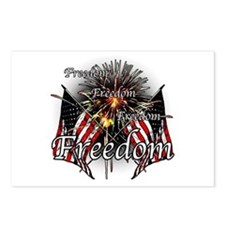 Freedom fireworks Postcards (Package of 8)