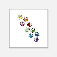 Paw Prints Sticker